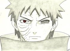 Obito...sharingan and rinnegan