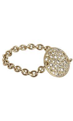 Finn Diamond Birthday Disc Ring