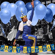 The consummate team player, Kent Bazemore always celebrates the achievements of others, but today we celebrate him! Happy 24th birthday, @kentbazemore20! Let the #Bazemoring begin!!!