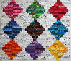 Wanda Hansen of Exuberant Color: Sewn together........