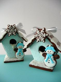 Gingerbread house #cookies #winter #wonderland #homemade Made by Ultimo Cakes