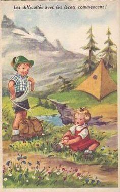 Carte humour enfant