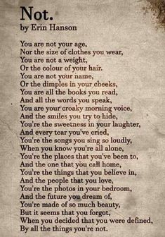 Summer style!! Just the right poem for International Women's Day! Read this out loud!