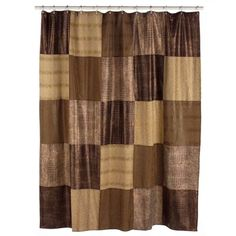 Faux-Suede Shower Curtain