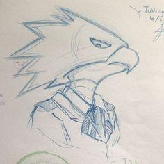 Anime Drawings Sketches, Cool Art Drawings, Pencil Art Drawings, Anime Sketch, Hero Academia Characters, My Hero Academia Manga, Anime Character Drawing, Character Art, Tokoyami Boku No Hero
