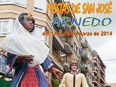 #Arnedo celebrará sus fiestas de invierno en honor a San José durante los próximos días 14, 15 y 16 de marzo de 2014 #FiestasRiojanas ♪ ♫ ♫