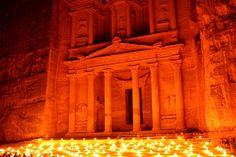 Petra Jordan - This is one of those iconic places that I would LOVE to visit!