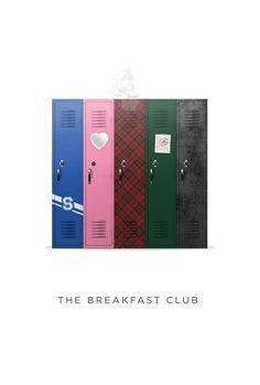 The Breakfast Club by Josh Cooper, via Behance
