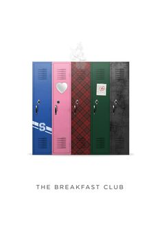 The Breakfast Club by Josh Cooper, via Behance