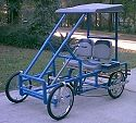 PVC Go Cart- so cool. Wouldn't buy this kit but still a good daddy- boys bonding/building project