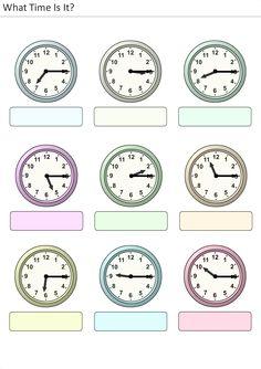 Worksheet La Hora Worksheet actividades para preescolar primaria e inicial plantillas con relojes analogicos aprender la