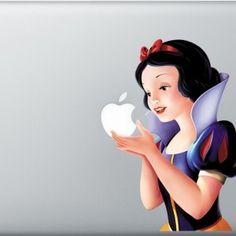 SeriouslyINeedThis | Snow White Laptop Decal