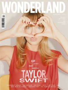 Wonderland April May 2013 Taylor Swift by Tung Walsh