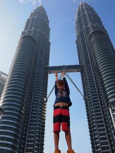Kuala Lumpur. Batu Caves, Petronas Towers and Petrosains