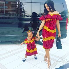 Creative Mother and Daughter Style - http://www.dezangozone.com/2016/01/creative-mother-and-daughter-style.html DeZango Fashion Zone