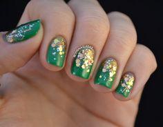 Glitter Art Nails