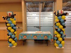 "Paul Frank's Julius Themed Birthday Party  2 columns with ""mini Julius"""