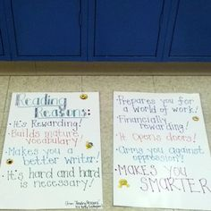 """From """"reading reasons"""" by Kelly Gallagher. Classroom Posters, Classroom Decor, Teaching Methods, Teaching Ideas, School Days, School Stuff, Kelly Gallagher, Worcester State, Reading Conference"""