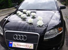 STROIKI stroik DEKORACJA na samochód ślub (5088577546) - Allegro.pl - Więcej niż aukcje.