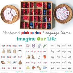 Montessori CVC Word Match Printables
