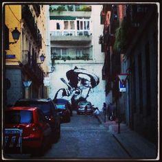#wallart #madrid #streetart