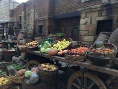 Medieval Market, Market Stalls, Marketing, Image, Market Stands, Market Displays