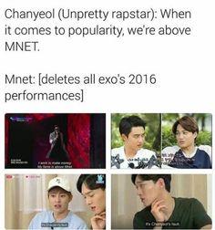 Chanyeol: cHOGIWHYYY ME?!