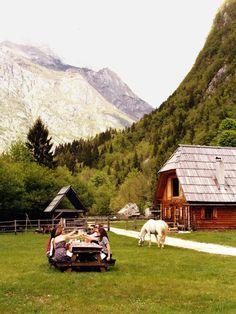A travel guide for Slovenia, including hotels and restaurants in Bled, Piran, Ljubljana, the Soca River Valley, and Goriska Brda