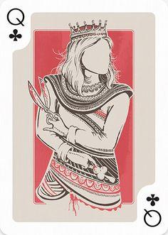 Queen of Clubs by Lucas de Alcântara