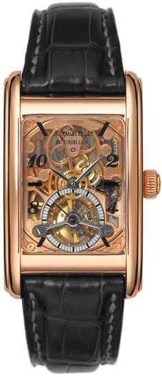 Audemars Piguet Edward Piguet Skeleton Dial Tourbillon 18 Kt Rose Gold