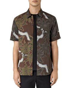 ALLSAINTS Zapata Slim Fit Button Down Shirt. #allsaints #cloth #shirt
