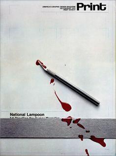 Print magazine, 1974