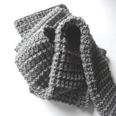 Ridge Rib Men Scarf | exactly what I'm looking for