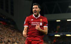 Download wallpapers Emre Can, Liverpool FC, Premier League, England, football, German football