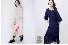 visual optimism; fashion editorials, shows, campaigns & more!: senza trucco: anastassia rottie by johan sandberg for d la repubblica 15th march 2014