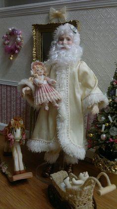 Father Christmas - Sharon Maggott's Mini's