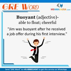 #GRE #GREWord #WordOfDay Via MSMBAinUSA Word Of The Day, New Words, How To Get, Learning, English Language, Word A Day, Studying, Study, Teaching