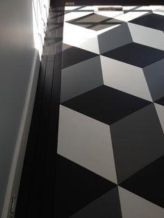Maple - Parquet - Rhombus Design