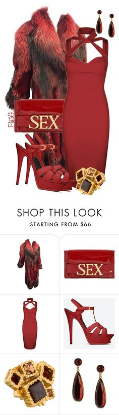 """""""KENDRA"""" by patigshively on Polyvore featuring Roberto Cavalli, Vivienne Westwood, Yves Saint Laurent and Sparkling Sage"""