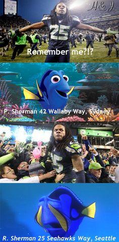 Made my first meme! Go Seahawks!!! Sherman is a beast!
