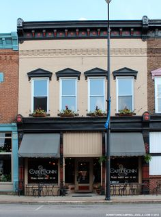Historic Storefront Design | Cafe Bonin | Downtown Campbellsville™ - Kentucky's Next Great City ...