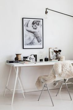 the feminine home office. / sfgirlbybay