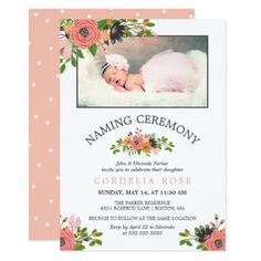 Create and Download a Indian Naming Ceremony Namakaran invitation