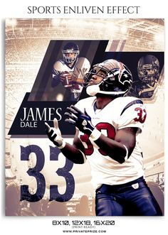 James Dale- Enliven Effects – Sport is lifre Football Field, American Football, Football Team, Football Decor, Football Program, Play Soccer, Play Golf, Team Player, Soccer Players