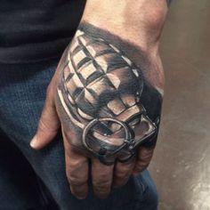 granade design hand