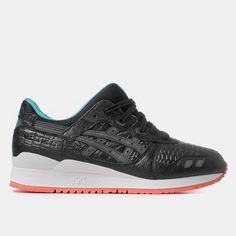 Asics Gel Lyte III Shoes - Black Miami Vice Pack