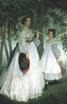 James Tissot, The Two Sisters, 1863
