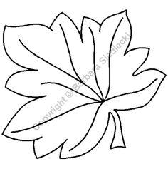 "Quilting Stencils > Floral & Leaf Block - Item: 7.5"" on QuiltingCreations.com"