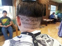 Tribal hair design