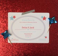 Custom Patriotic Party Invitation by TheDesignCandyShoppe on Etsy, $15.00